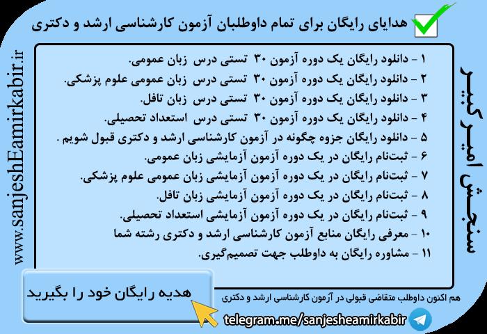 منابع کارشناسی ارشد زبان عربی
